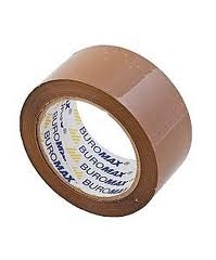 Скотч пакувальний 48мм*66м Buromax коричневий