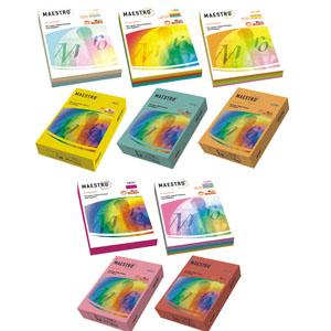Бумага Maestro Color А4/80 неоновый