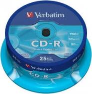Диск CD-R Verbatim cake25