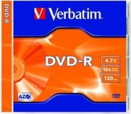 Диск DVD-R Verbatim slim