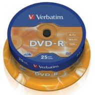Диск DVD-R Verbatim cake25