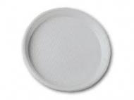 Тарілка пластикова десертна D-16,5 100шт