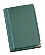 Записна книжка 80х120мм зелена