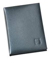 Записна книжка 90х125мм синя