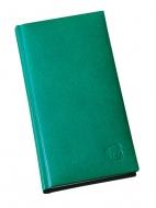 Книга алфавитная 80х170мм XAFIRE зеленая
