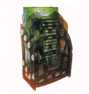 Лоток для бумаг вертикальный 3в1«Ника» Arnika дымчатый