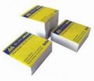 Папір для нотаток 90х90/1100 білий, неклеєний Buromax