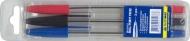 Набір кулькових ручок 3 кольори Buromax 8433