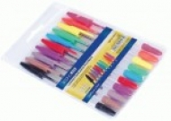 Набір кулькових ручок 10 кольрів Economix Standard