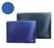 Папка на резинках А5 Economix синяя