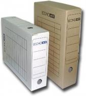 Бокс архівний 80мм Economix білий