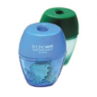 Чинка пластикова з контейнером Economix 40604