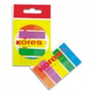 Стікер-закладки 12x45 (5х25аркушів) пластикові Kores