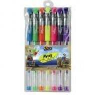 Набір гелевих ручок 7 кольорів Olli Neon