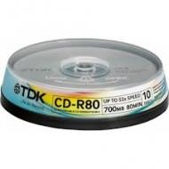 Диск CD-RW TDK bulk10