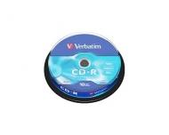 Диск CD-R Verbatim cake10