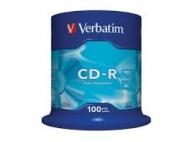 Диск CD-R Verbatim cake100