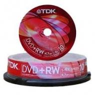 Диск DVD-RW TDK cake10