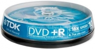 Диск DVD-R TDK cake10