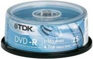 Диск DVD-R TDK cake25