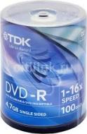 Диск DVD-R TDK cake100