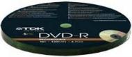 Диск DVD-R TDK bulk10