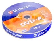 Диск DVD-R Verbatim bulk10