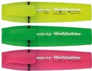 Маркер текстовий Highlighter D 2502 асорті