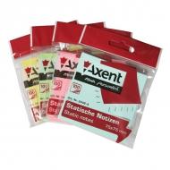 Стікери 75*75/100 СТАТИЧНІ пастельні Axent