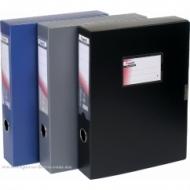 Папка-коробка 60мм Axent сіра