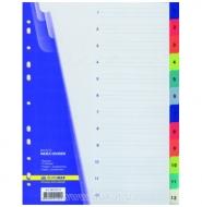 Разділювач пластиковий 1-12 Buromax
