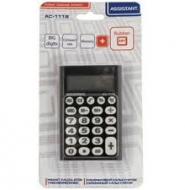 Калькулятор Assistant  AC-1116 чорний