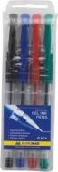 Набір гелевих ручок 4 кольори Buromax 8440