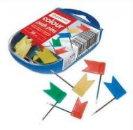 Кнопки-цвяшки Optima прапорці 41155