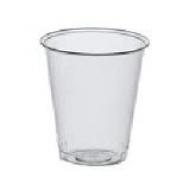 Стакан пластиковий прозорий 100мл 100шт