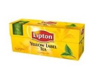 Чай чорний Lipton Yellow Label 25пак