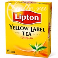 Чай чорний Lipton Yellow Label 100пак