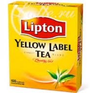 Чай чорний Lipton Yellow Label 100пак