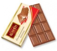 Шоколад Рошен молочний