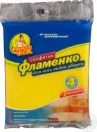 """Серветки віскозні """"Фламенко"""" Фрекен Бок"""
