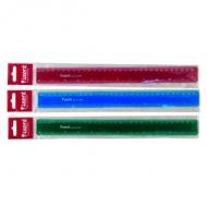 Лінійка 30см пластикова Axent кольорова