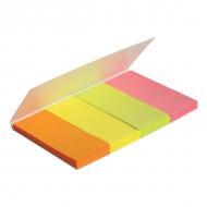 Стікер-закладки 20*50 (160шт) паперові Axent