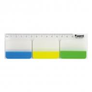 Стікер-закладки 38*45 (30шт) пластикові Axent