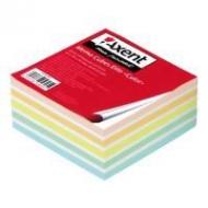 Папір для нотаток 90*90*40Elite Color непрокл. Axent.